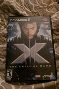 X-Men: The Official Game (Sony PlayStation 2, 2006) PS2