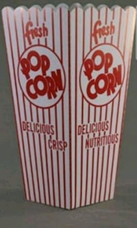 Popcorn concession containers Brampton