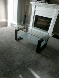 Glass coffee table Kitchener, N2M 0A2