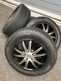 "18"" Wheels and Tires 5 Lug Universal"