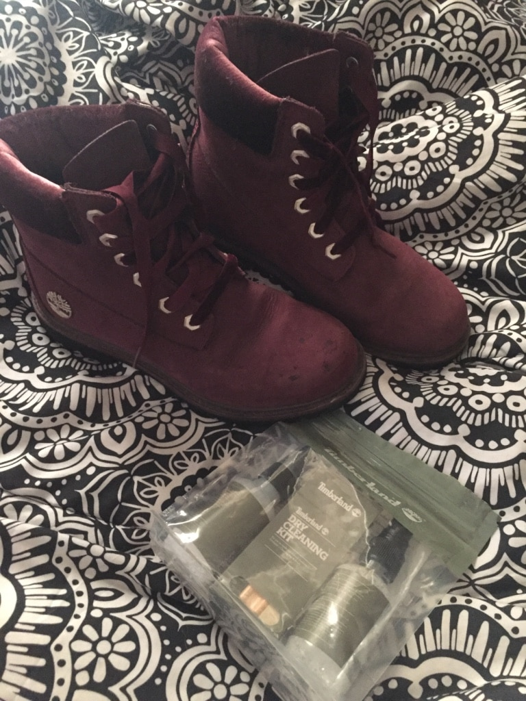 Used Purple suede women's timberlands for sale in Norman letgo