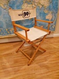 Vintage WLVT-TV 39 PBS Director Producer Chair  Macungie, 18062