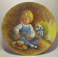 "Collector's Plate - ""Little Boy Blue"" by Reco -1980 Vaughan, L4H 0C5"