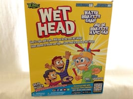 Wet Head Game box excellent conditions all pcs included
