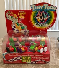 "1990 VINTAGE ""TINY TOON ADVENTURES"" HAPPY MEAL COUNTER DISPLAY !! Boca Raton, 33486"