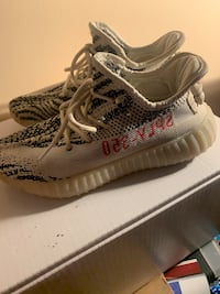 Yeezys size 7 (mens) only worn once Laurel, 20724