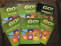 6 pcs, Go! MICROSOFT book collections Burnaby, V5J 2Y3