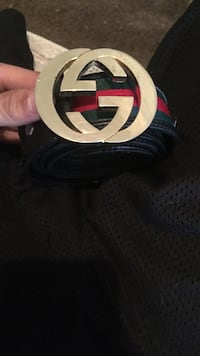 Green Red and Black Gucci belt  Gridley, 95948
