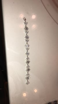 Diamond Bracelet Flower Shaped Yorktown, 23693