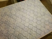 quilted white and blue floral mattress El Paso, 79905