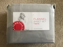 Martha Stewart Twin Sheet Set