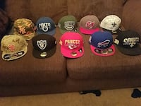 fitted cap lot