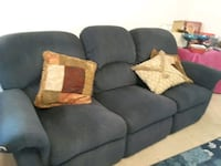 Blue Couch and Loveseat Hiram, 30141