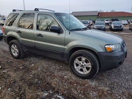 2007 FORD ESCAPE. SUV AUTOMATIC, 4 DOORS, SUNROOF,