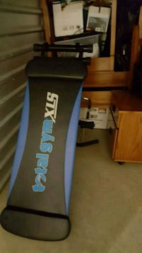 blue and black Total Gym XLS sit-up bench Newport News, 23608