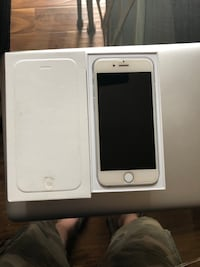 silver iPhone 6 with box Acton, L7J 2W3