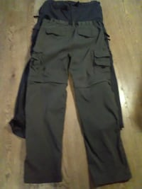 two blue and brown cargo pants Kitchener