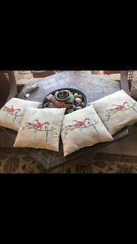 Out door water proof throw pillows