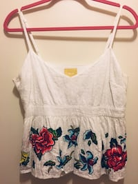 Anthropologie Maeve Peplum Top, Size 12 Laurel, 20707