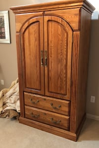 Armoire, queen cabinet bed and triple dresser Southlake, 76092