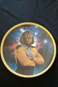 Star Trek TNG Word collector plate Mississauga, L4Z 1W3