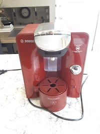 Red and gray Tassimo coffeemaker Edmonton, T6T