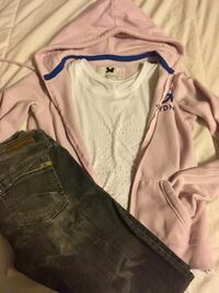 Pink zip up Gilly Hicks