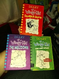 Diary of a wimpy kid hard covers Portland, 97233