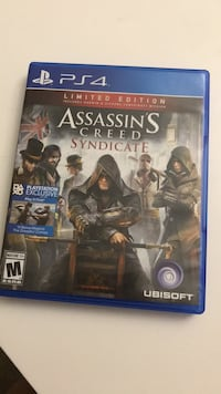 Assassin's Creed Syndicate PS4 game case Woodbridge, 22192