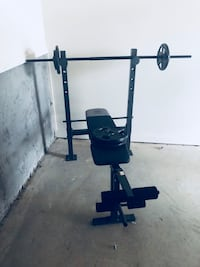 black and gray bench press Cabot, 72023