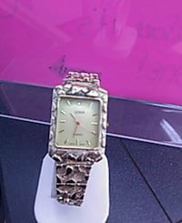 square silver analog watch with silver link bracelet Louisville, 40214