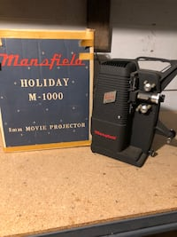 mansfield holiday m-1000 8mm movie projector Evansville, 47714