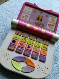 Barbie Laptop Kids Toy