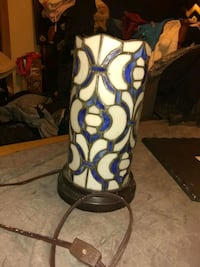 Unique stained glass lamp