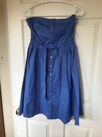 Blue summer sleeveless dress size M Vaughan, L6A 1N1