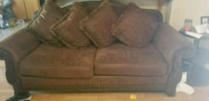 Ashley's couch and love seat