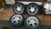 "18"" wheels winter tires 5x120 and 5x112 Vancouver, V6B"