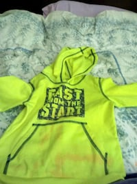 yellow and black pullover hoodie Frederick, 21702