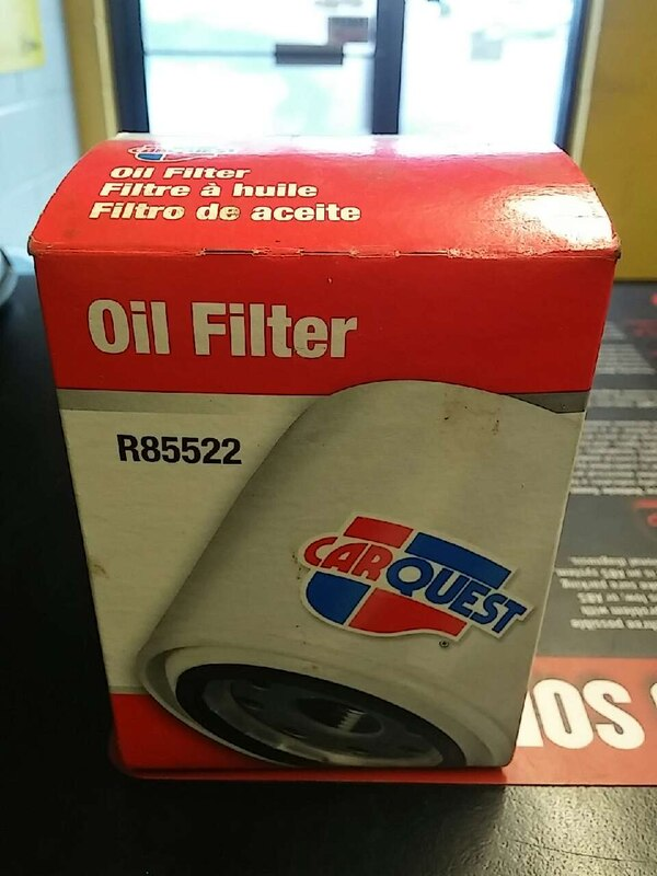 Used car quest oil filter for sale in Stamford - letgo