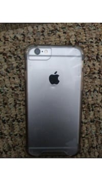 silver iPhone 6 with case Narvon, 17555