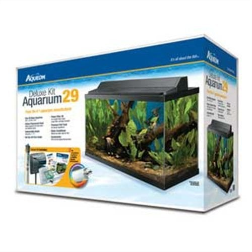 NEW AQUEON Deluxe Kit Aquarium 29