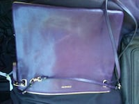 black and purple leather crossbody bag Middletown, 45042