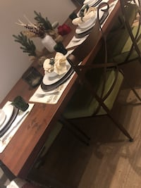 West Elm country/ industrial style dining table. Watertown, 02472
