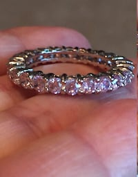 Pink sapphire ring. Size 9 Ragley, 70657