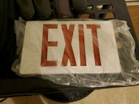 Exit Sign  Fishers, 46038