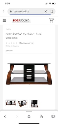 Glass Tv Stand Mississauga, L5N 4M2