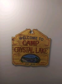Camp Crystal Lake / Friday the 13th sign  Gaithersburg, 20886