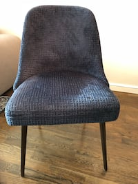 Pair of brand new West elm mid century modern dining chairs Jersey City, 07302