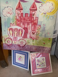 Little girl's room painting and wall art Burtonsville, 20866