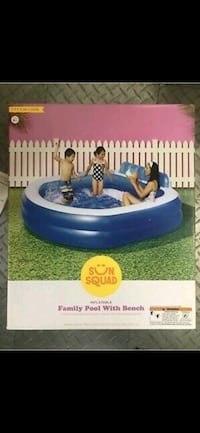 Brand New never used Familt pool 7.5 x 27